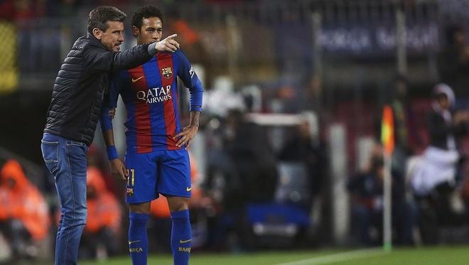 Neymar the hien quyen luc,  doi roi Barca anh 2