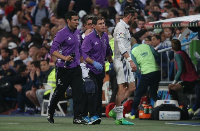 Sao Real Madrid muon day Gareth Bale len ghe du bi anh 1