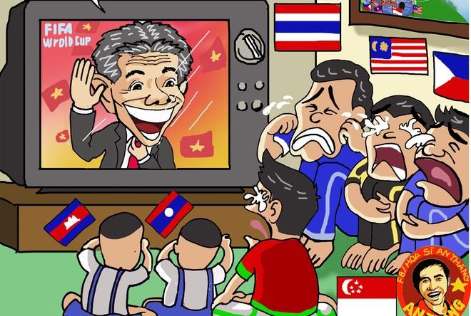 Hi hoa: Thua World Cup, U20 Viet Nam van la uoc mo o Dong Nam A hinh anh