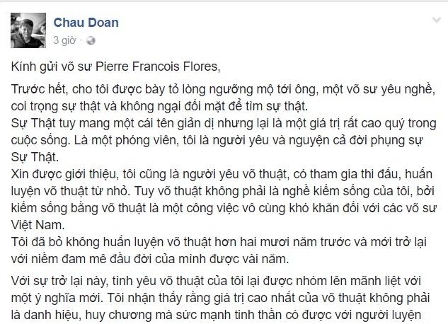 Vo su Viet muon thi dau voi 'cao thu' Vinh Xuan hinh anh 1