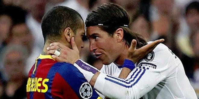 Mot troi thu han giua Sergio Ramos va Dani Alves hinh anh