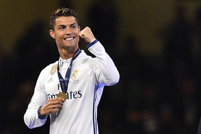 Ronaldo kiem tien gioi nhat lang the thao nam 2017 hinh anh