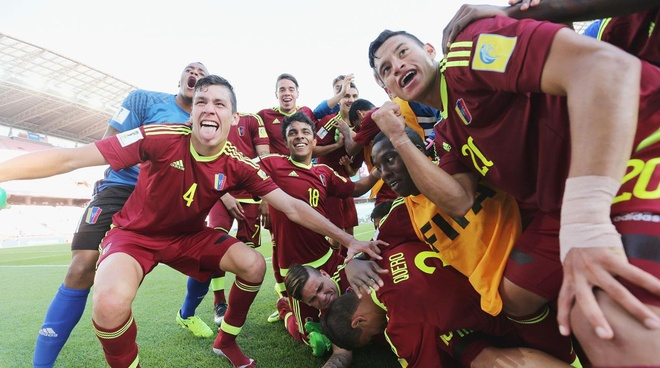 U20 Venezuela viet co tich nhu Leicester hinh anh