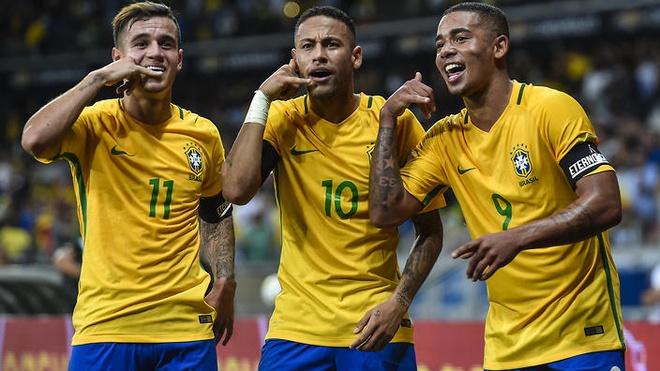 Brazil len dinh the gioi, Viet Nam tut hang tren BXH FIFA hinh anh
