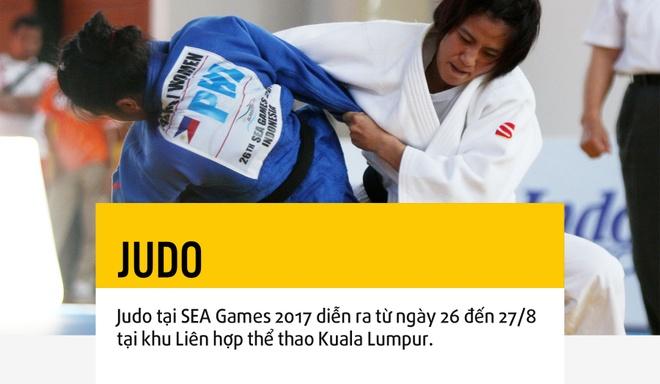 Cho Judo but pha tai SEA Games 29 hinh anh