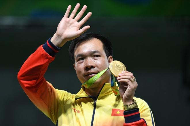 Hoang Xuan Vinh vao top 8 VDV dang xem nhat SEA Games hinh anh 1