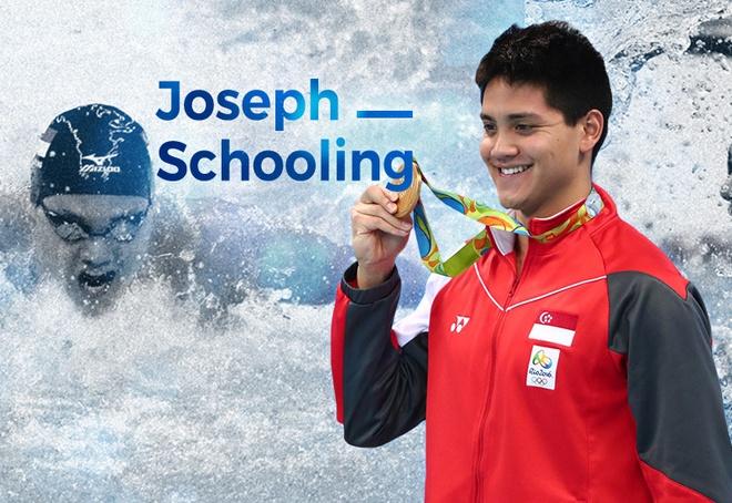 Joseph Schooling, tu thua Hoang Quy Phuoc den ha be Michael Phelps hinh anh