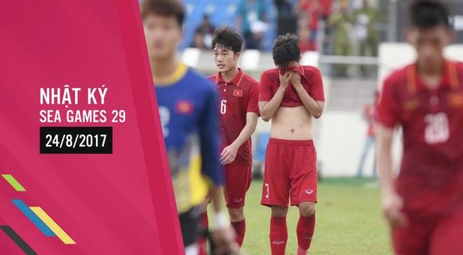 Nhat ky SEA Games: Thai Lan lai 'de' U22 Viet Nam hinh anh