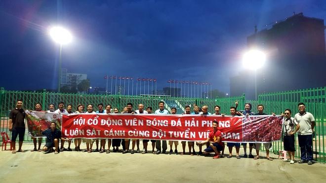 CDV Hai Phong 'tiep lua' cho tuyen Viet Nam noi dat khach anh 1