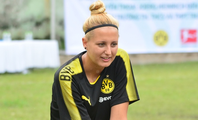 Nu HLV Dortmund: Chung toi san sang hop tac bong da voi Viet Nam hinh anh