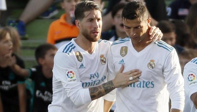 Sergio Ramos 'bat' Ronaldo, chao don Neymar hinh anh