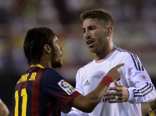 Sergio Ramos 'bat' Ronaldo, chao don Neymar hinh anh 3