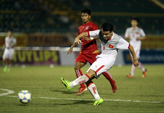 Lay cong bu thu, U21 Viet Nam gianh 3 diem truoc Myanmar hinh anh 3