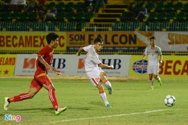 Lay cong bu thu, U21 Viet Nam gianh 3 diem truoc Myanmar hinh anh 4