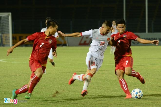 Lay cong bu thu, U21 Viet Nam gianh 3 diem truoc Myanmar hinh anh 5