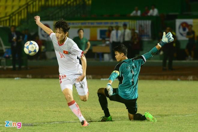 Lay cong bu thu, U21 Viet Nam gianh 3 diem truoc Myanmar hinh anh 6