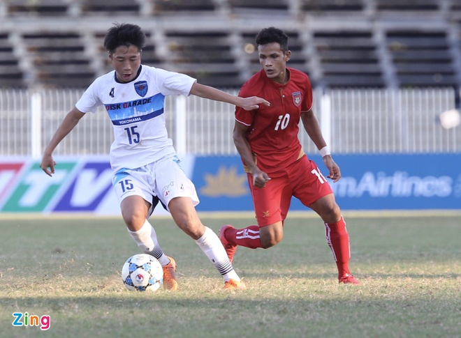 Dai dien Nhat Ban co 'ban tay nho' truoc U21 Myanmar hinh anh 2