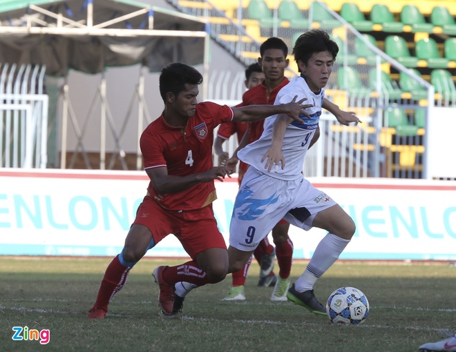 Dai dien Nhat Ban co 'ban tay nho' truoc U21 Myanmar hinh anh 3