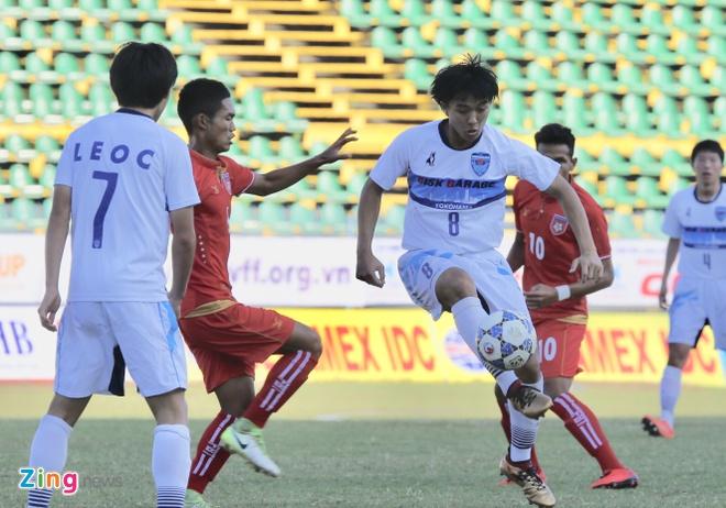 Dai dien Nhat Ban co 'ban tay nho' truoc U21 Myanmar hinh anh 6