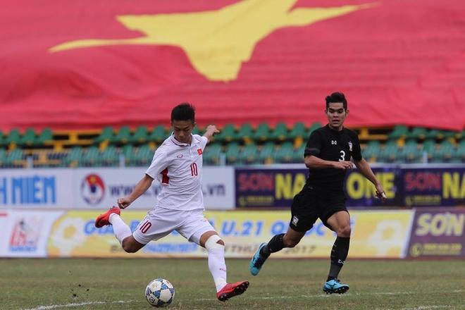 U19 Viet Nam lo co hoi thang U21 Thai Lan vi quen loi HLV hinh anh 1