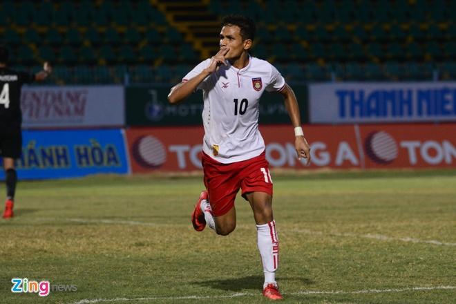 U21 Myanmar lan thu hai lien tiep quat nga Thai Lan hinh anh 1