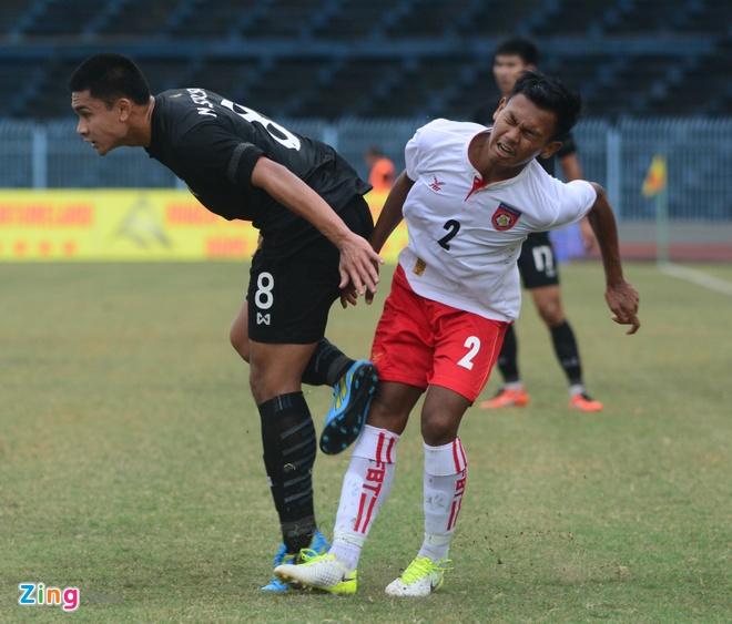 U21 Myanmar lan thu hai lien tiep quat nga Thai Lan hinh anh 7