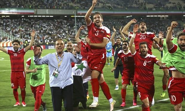 Kết quả hình ảnh cho bóng đá nước Syria