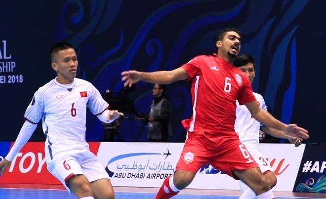 Bahrain thua sat nut truoc tuyen futsal Viet Nam hinh anh