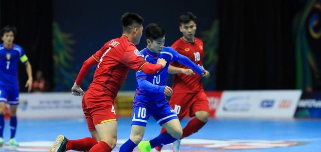 Doi futsal Viet Nam cham tran Uzbekistan o tu ket giai chau A 2018 hinh anh 1
