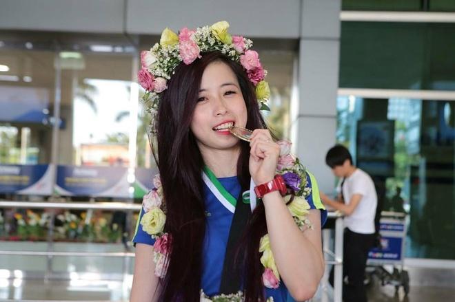 Hoa khoi taekwondo Chau Tuyet Van va cai Tet Mau Tuat 2018 dac biet hinh anh