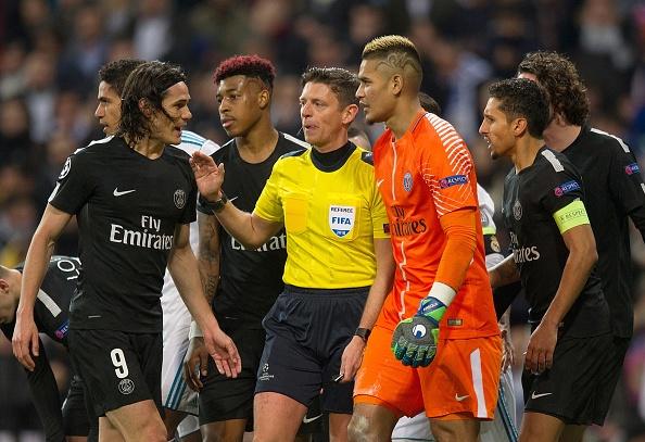 Chu tich PSG: 'Trong tai nang do Real Madrid' hinh anh