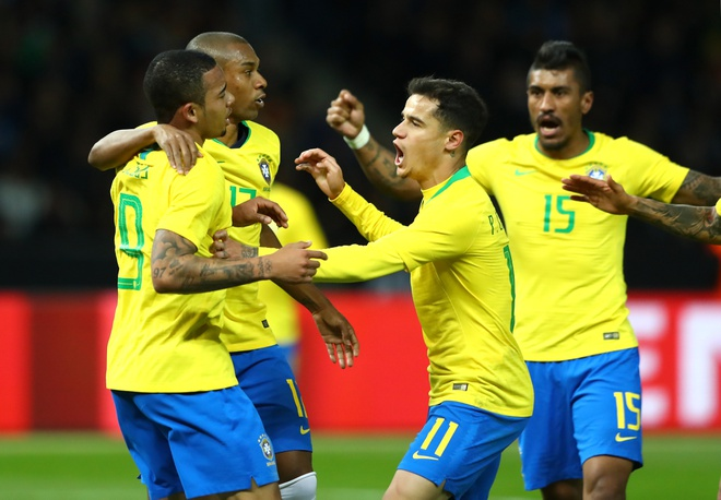 Doi Brazil da thuc tinh sau tham hoa Belo Horizonte hinh anh