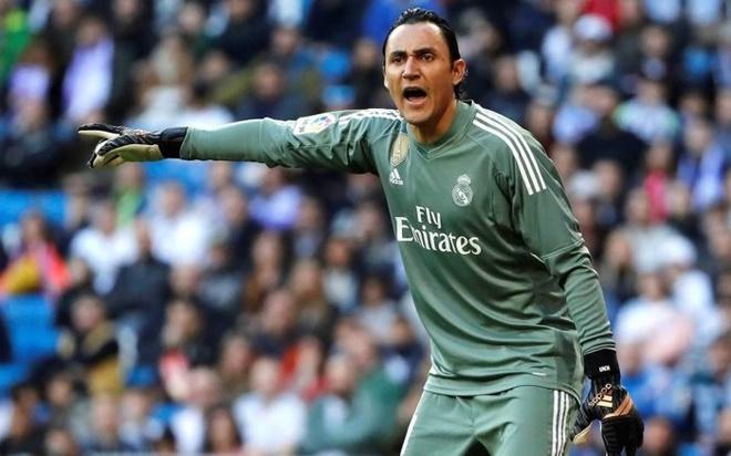 Keylor Navas: 'Vi thanh' moi cua Real Madrid thach thuc De Gea hinh anh