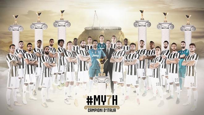 Ky quan thu 7 cua Juventus: Dang cap la mai mai hinh anh