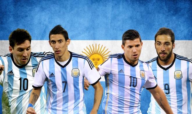 Tuyen Argentina mang hang tien dao ghi 124 ban toi World Cup 2018 hinh anh