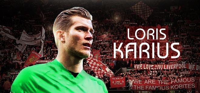 Voi Liverpool, xin dung de Loris Karius don doc hinh anh