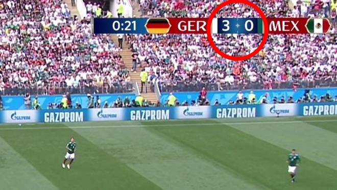 FIFA mac sai lam hai huoc ve ty so tran Duc thua Mexico hinh anh