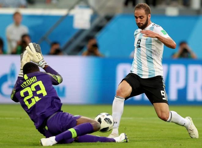 Gonzalo Higuain 'chan go' am tuyen Argentina den bao gio? hinh anh 1