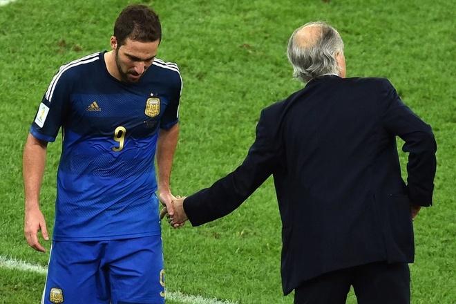 Gonzalo Higuain 'chan go' am tuyen Argentina den bao gio? hinh anh