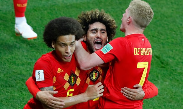 Fellaini con la nguoi hung, World Cup 2018 that hon loan hinh anh