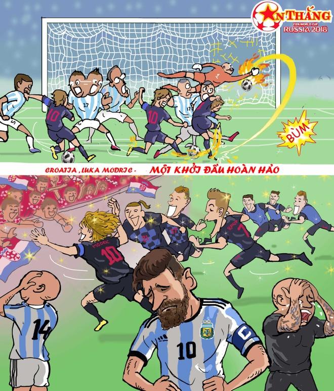 Hi hoa Croatia khien Argentina, Anh khoc ngat tai World Cup hinh anh 1