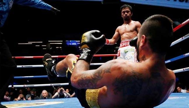 Huyen thoai Manny Pacquiao co tran thang knock-out o tuoi 39 hinh anh 2