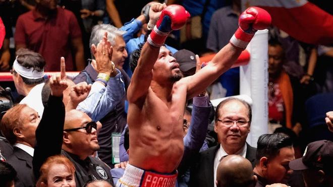 Huyen thoai Manny Pacquiao co tran thang knock-out o tuoi 39 hinh anh