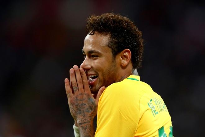 Neymar - giai 'The Best' khong co cho cho su ong eo hinh anh