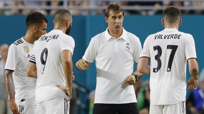 Khi HLV Lopetegui muon Real Madrid nhay 'rock 'n' roll' hinh anh 3