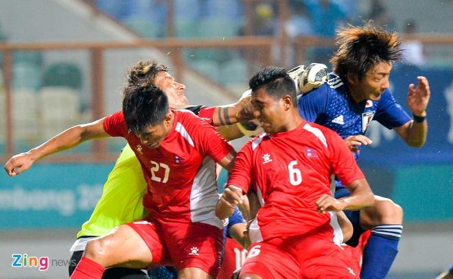 Thong ke te hai cua Olympic Nepal truoc tran gap Viet Nam hinh anh