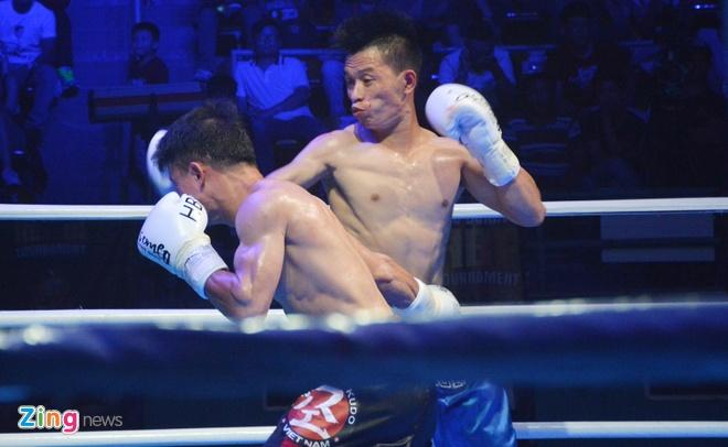 Sai Gon 'nong' voi giai boxing HBF lan 1/2018 hinh anh
