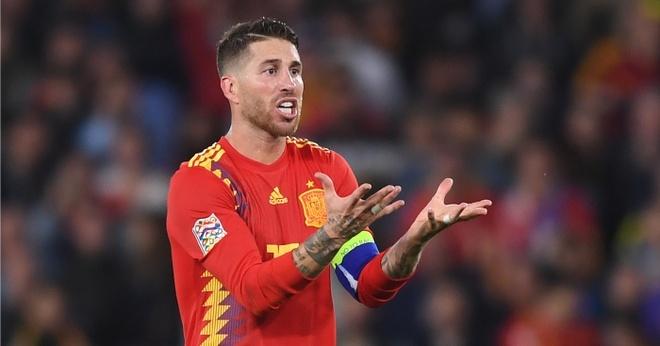Sergio Ramos tu tin thai qua va khong mong duoc nho la hau ve hinh anh