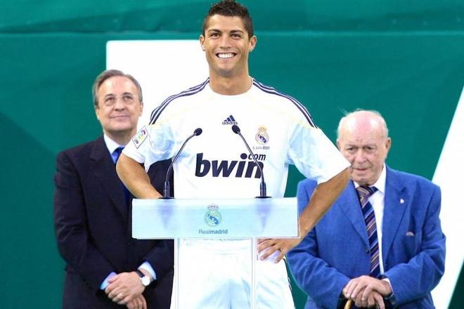 Ronaldo, dua con ghe chua bao gio Chu tich Perez thua nhan hinh anh
