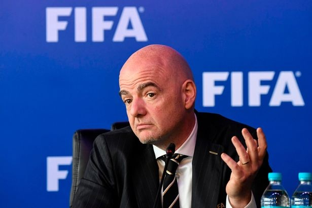 FIFA,  Cao Van Chong,  World Cup 2022,  World Cup 2026,  48 doi,  Viet Nam,  co hoi du World Cup,  chu tich FIFA,  Gianni Infantino anh 1